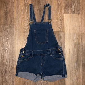 Papaya Blue Jean Overalls